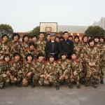 上海軍團示範